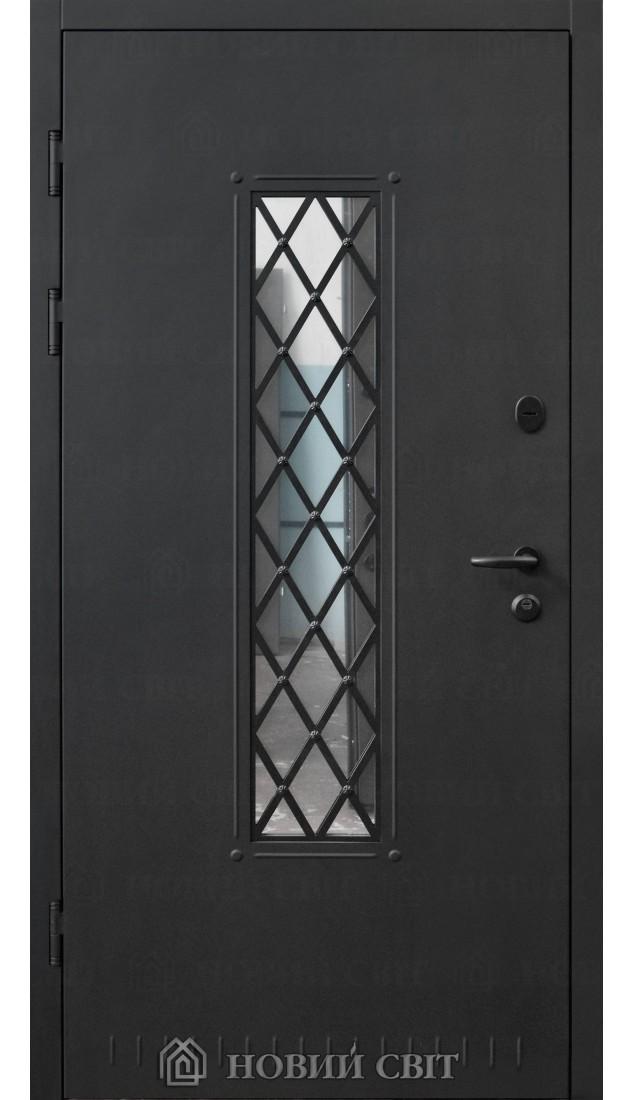 Входные двери Новый мир Металл-1