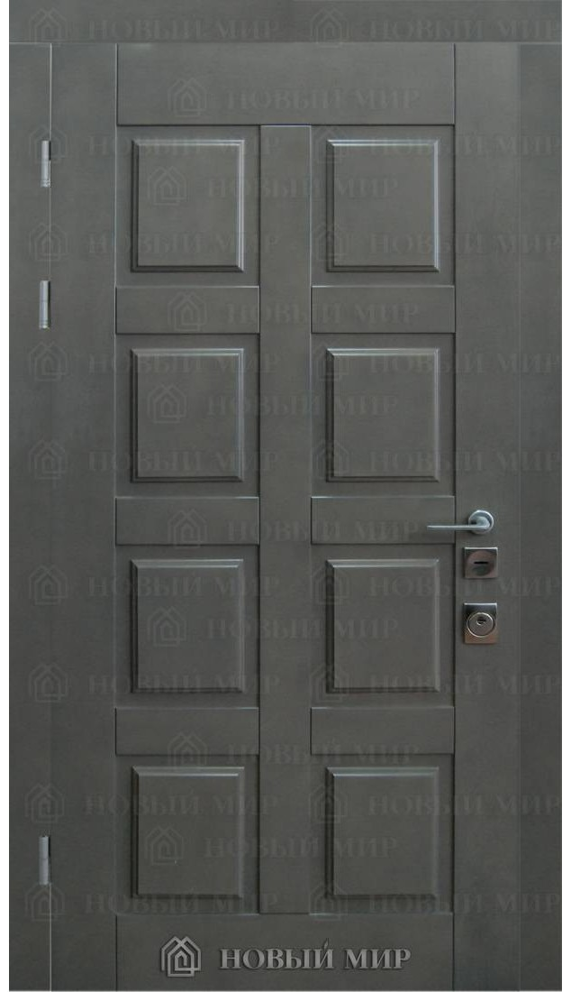 Входные двери Новый мир Шведская (фанера крашенная)