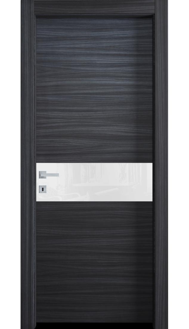 Межкомнатные двери Alberoporte VS05 (с белым стеклом)