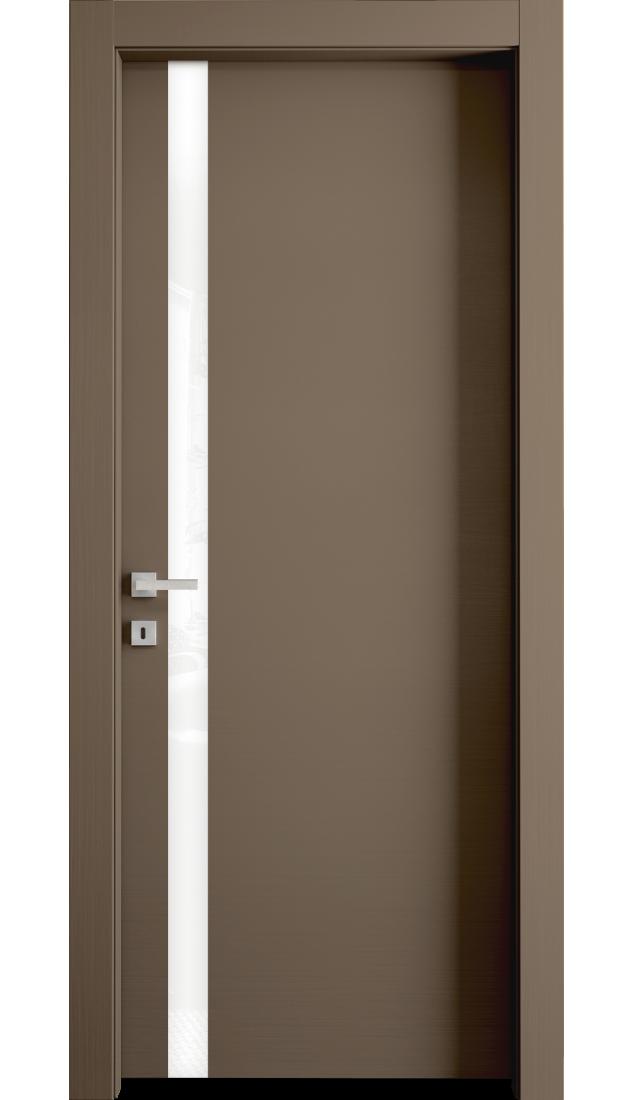 Межкомнатные двери Alberoporte VS10 (с белым стеклом)
